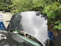 2005 jaguar s-type boot lid - black