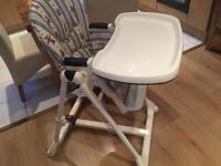 Multi position high chair