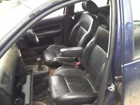 VW GOLF MK 4 LEATHER INTERIOR