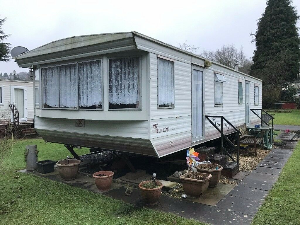 OFF SITE STATIC MOBILE HOME 32X12FT 2 BEDROOMS