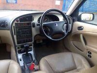 2002 (Mar 02) SAAB 9-5 2.0 LT VECTOR - Estate 5 Doors - AUTO - Petrol - BLUE *FSH/LONG MOT/H-SEATS*
