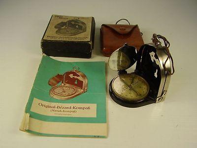 Originaler Kompass Patent Bezard + OVP + Papiere Modell 1928
