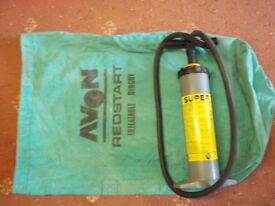 inflatable dinghy carry bag and pump