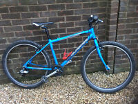 Islabike Beinn 26 Large for a child age 10+, with additional mountain bike tyres