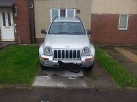 jeep cherokee spares or repairs