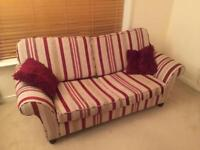 Laura Ashley sofa bed.