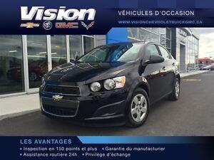 2012 Chevrolet Sonic LT ** TRÈS BAS KILOMÉTRAGE **