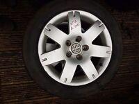 4 x VW Passat Alloy wheels