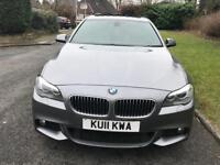 BMW 5 Series 2011 with 10 K of optional extras