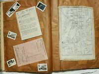 WW2 Scrapbook Flying Officer India