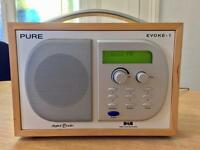 Pure Evoke-1 Luxury Digital Radio - Brand New