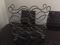 Stylish wine rack