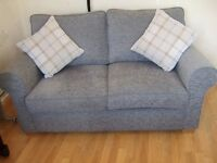 New Alston upholstered 2 seater sofa bed.