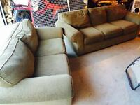 Very COMFORTABLE couch and love seat