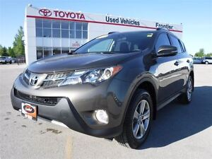 2015 Toyota RAV4 XLE TOYOTA CERTIFIED PRE OWNED