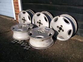 Free Alloy Wheels, Vauxhall, 5 x size 6J x 15.