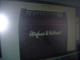 yamaha c30m classical guitar as new & Hughes & Kettner ed blue 15 guitar amp ex cond