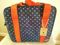 NOW REDUCED - JOULES STARFISH PICNIC COOLER AND PICNIC BLANKET - BOTH