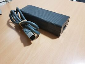 Xbox 360 accessories (HDD and power supply)