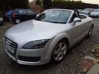 ENGINE BLOW AUDI TT CONVERTIBLE 2007 REG 07 PLATE LEATHER TRIM 2LTR 6 SPEED MANAUL