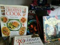 Cook books all different
