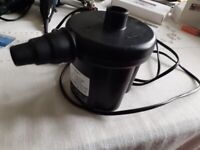 "Lichfield Electric air pump - ""Jacky"""