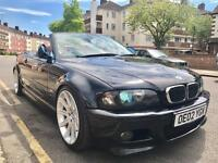 BMW M3 E46 Convertible Individual Carbon Black Orange Inside Low Millage 98k