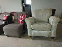 Quality Armchair Fabric like new vgc Deliv Poss
