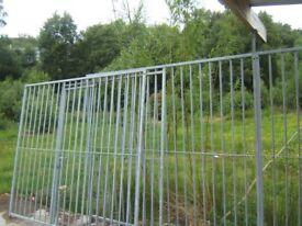 fencing panels galvanised