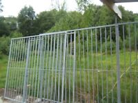 fencing panels galvanised