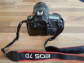 Canon 7d + 24-105mm L-lens & 50mm lens Accessories