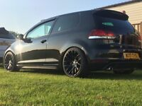 Golf GTI on coilovers and 3sdm wheels