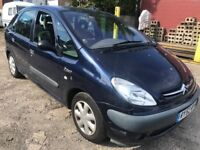 Citroen Picasso 1.8 cheap to clear