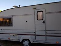 Bailey Pageant Magenta 1997 2 berth caravan (inc full size awning) - Good condition