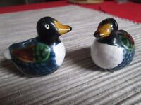 Pair of ducks salt and pepper set