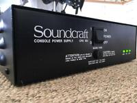 Soundcraft CPS 150 Power supply + other cables