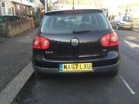 Black Volkswagen Golf 2007 DIESEL