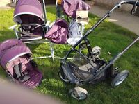 Oyster max tandem/single pushchair
