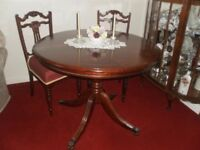 Beautiful Round dining room table