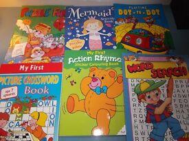 Book Bundle - Kiddie Activity Books