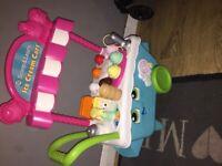 Leap frog ice cream kart