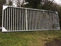 Large Security gate never been used