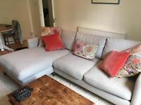 Beautiful Corner left hand Chaise Sofa