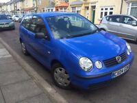 2004 Volkswagen Polo 1.2 3dr Blue