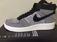 MENS NIKE AIR FORCE 1 ULTRA FLYKNIT MID UK 9.5