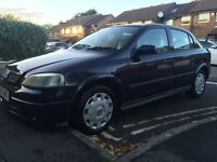 Vauxhall Astra 1.4 Petrol in blue