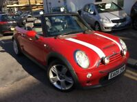 MINI COOPER S 1.6 CONVERTIBLE 2005 FULL LEATHERS HEATED SEAT FULL SERVICE HISTORY LONG MOT XENON