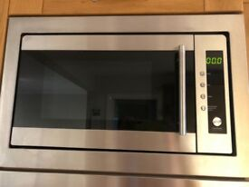 Integrated microwave with manual