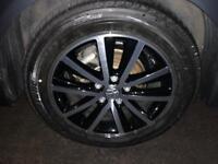 """VW Caravelle/Transporter 17"""" cascavel alloy wheels"""