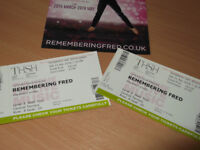 Strictly Fans 'Remembering Fred' Aljaz & Janette 21 April 2018 Symphony Hall 2 tickets for £91 ono